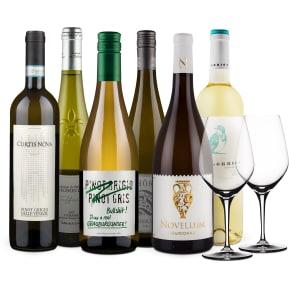Offre 'Découverte en blanc' + 2 verres Spiegelau offerts