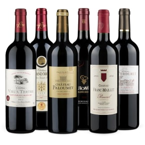 Wine in Black 'Tour de Bordeaux-Set'