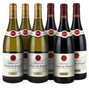 E. Guigal 'Réserve Prestige Rouge & Blanc 13-15' pakket