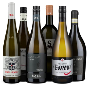 Wine in Black 'Big Points Witte Wijn' pakket