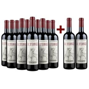 Offre découverte '10+2' Castello Romitorio 'Il Toro' Toscana 2015