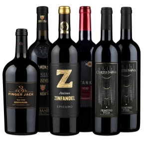 Wine in Black 'Primitivo meets Zinfandel'-Set