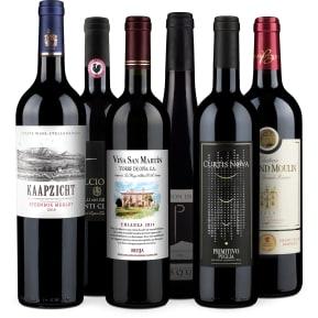 Wine in Black 'Rode Wijn Bestseller' pakket