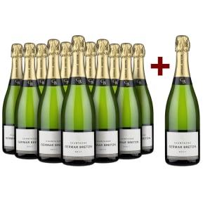 Champagne Germar Breton 'GB' Brut '12 halen, 11 betalen'
