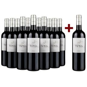 '12 halen, 11 betalen' pakket Bodega Colais 'Tetis' Priorat 2007