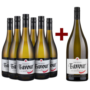 Marisco Sauvignon Blanc 'The King's Favour' Marlborough 2017 6er+Gratis-Magnum-Set