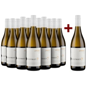 Offre 11+1 District 7 Wines Chardonnay Monterey California 2016