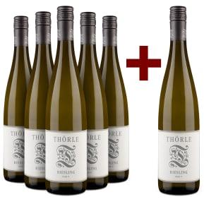 5+1-Set Thörle Riesling trocken 'Fass 9' 2017
