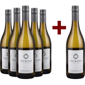 Offre 5+1 Ten Rocks Sauvignon Blanc Marlborough 2018