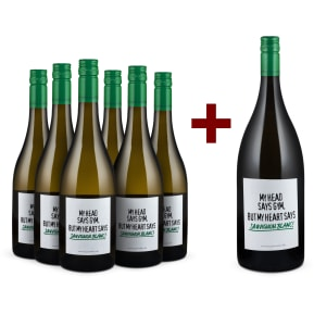 Offre 6 bouteilles Emil Bauer 'My head says gym. But my heart says Sauvignon Blanc!' 2018 + magnum offert