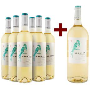 Offre 6 bt.+1 mg. offert Álvarez y Díez Sauvignon Blanc 'Gorrión' 2018