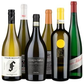 Wine in Black 'Big Points'-Weißwein-Set