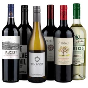 Wine in Black 'Nieuwe Wereld' pakket
