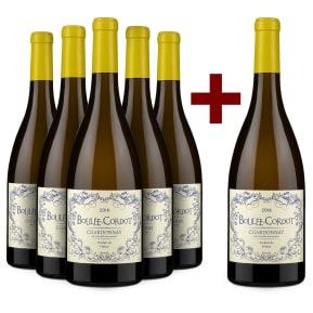 5+1-Set Les Producteurs Réunis Chardonnay 'Boulée-Cordot' 2018