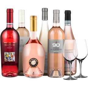 Wine in Black 'Super-Rosé'-Set