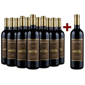 '12 halen, 11 betalen' pakket 'Bellevue Seillan' Côtes de Gascogne 2012