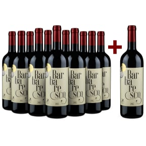 11+1-Set Casali del Barone 'Barbaresco' 2015