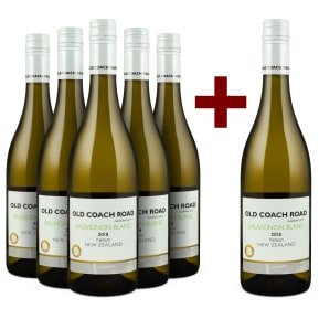 5+1-Set Old Coach Road Sauvignon Blanc Nelson 2018