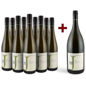 Jurtschitsch Grüner Veltliner 'Grashüpfer' 2018 '9 flessen + magnum' pakket