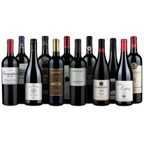 Wine in Black 'Bestseller-Rotwein-12er'-Set