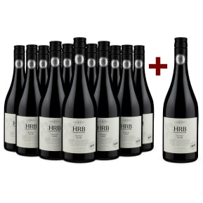 Offre 11+1 Set Hardys Shiraz Heritage Reserve Bin 'HRB' Clare Valley 2016