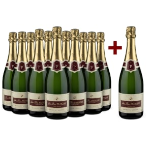 11+1-Set Champagne Jean-Pierre Patigny 'Brut Tradition' Premier Cru