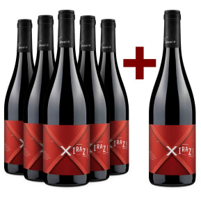 5+1-Set Xavier Vignon Syrah 'Xiraz!' 2018