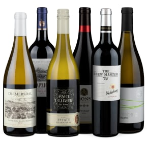 Wine in Black 'Wijnreis door Zuid-Afrika' pakket