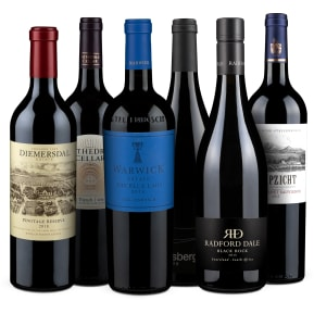 Wine in Black 'Stars of South Africa'-Set