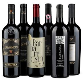 Wine in Black 'Pizza, Pasta & Amore' pakket