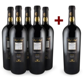 Wine in Black '5+1-Set' Cantine Paolini Nero d'Avola 'Baglio Amafi' Sicilia 2011
