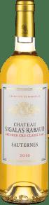 Château Sigalas Rabaud Premier Cru Classé Sauternes 2010