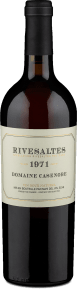 Domaine Casenobe Rivesaltes Vin Doux Naturel 1971