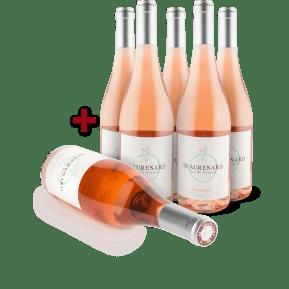 Offre '5+1' Domaine de Beaurenard Rosé 'BiotifulFOX' 2014