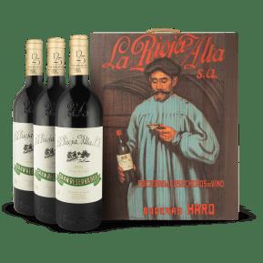 3 x La Rioja Alta 'Gran Reserva 904' Cosecha 2005 in wijnkistje