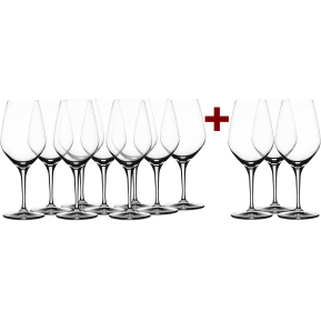 Wine in Black '9+3-Set' Spiegelau 'Authentis' Glas