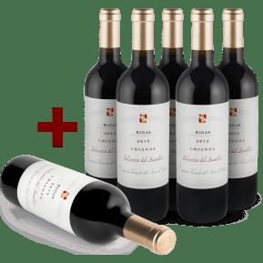 Offre 5+1 Cune Rioja Crianza 'Selección del Sumiller' 2012