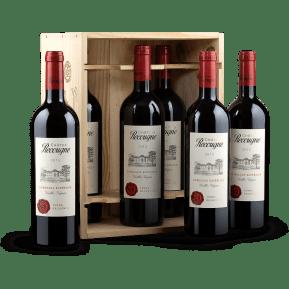 6er-OHK Château Recougne 'Vieilles Vignes' Bordeaux Supérieur 2015