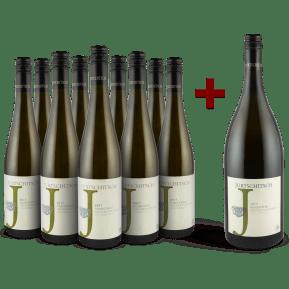 Jurtschitsch Grüner Veltliner 'Grashüpfer' 2017 '9 flessen + magnum' pakket