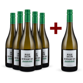 5+1-Set Emil Bauer 'My head says gym. But my heart says Sauvignon Blanc!' 2019
