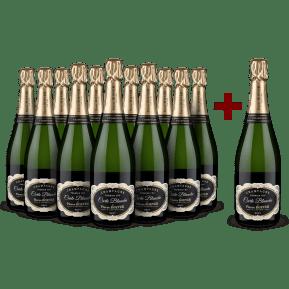 '12 halen, 11 betalen' pakket Champagne Pierre Boever 'Carte Blanche' Premier Cru NV