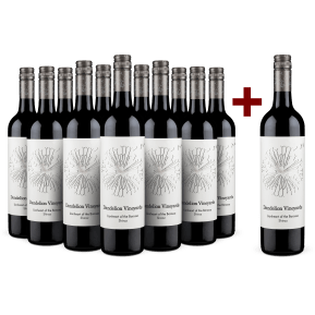 '12 halen, 11 betalen' pakket Dandelion Vineyards 'Lionheart' Shiraz Barossa Valley 2017