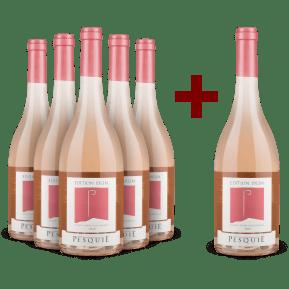 5+1-Set Château Pesquié 'Édition 1912m' Ventoux Rosé 2019
