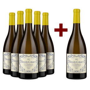 '6 halen, 5 betalen' pakket Les Producteurs Réunis Chardonnay 'Boulée-Cordot' 2019