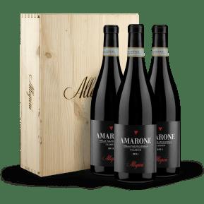 3er-OHK Allegrini Amarone della Valpolicella Classico Vertikale 11-13-15