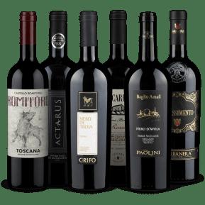 Wine in Black 'Bella Italia'-Set