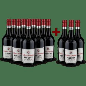 9+3-Set Cellier des Dauphins Réserve Côtes du Rhône Rouge 2018