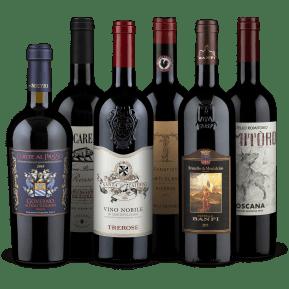 Wine in Black 'Best of Tuscany' pakket