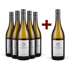 5+1-Set 'Ten Rocks' Sauvignon Blanc Marlborough 2019