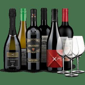 Wine in Black 'Big Bestseller'-Set + 3 Gratis-Spiegelau-Gläser